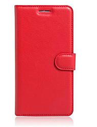 Für Asus Hülle Kreditkartenfächer / mit Halterung / Flipbare Hülle Hülle Handyhülle für das ganze Handy Hülle Einheitliche Farbe HartPU -