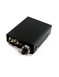 Special Aluminum Trim Single Mini Plug Tattoo Power Supply