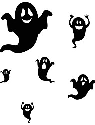 aw9434 Halloween Stickers Glass Window Stickers Wall Stickers Halloween   Home Decor Ghost Stickers