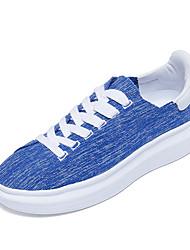 Homme-Sport-Noir / Bleu / Rouge / Blanc-Talon Plat-ConfortTulle