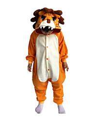 Kigurumi Déguisements d'animaux Halloween / Noël / Carnaval / Le Jour des enfants / Nouvel an Orange Couleur Pleine Polaire