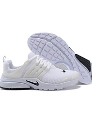 Nike Air Presto Running Shoes For Men's Nike Air Presto All White Elastic Mesh And Rubbe Mens Sports Athletic Sneakers