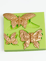 Filigree Butterfly Silicone Mold for Chocolate Polymer Clay Candy Making Sugarcraft Tools Cake Decoration Mould