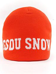 Bonnet de Ski Ski Casquettes/Bonnet / Chapeau Femme / Homme / Unisexe Garder au chaud / Pare-vent Snowboard ToisonRouge / Gris / Noir /