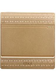 dessin unique à double commande d'ouverture 3d interrupteur 86 type d'un panneau de commutateur socket joint deux de commande