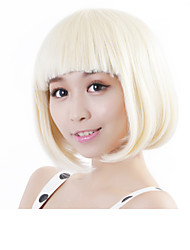 "Neitsi 100% Kanekalon Fiber 14""(35cm) 160g/pc Women's Girl's Cosplay Short Synthetic BOB Hair Wigs"