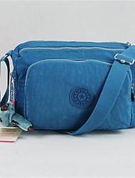 Women-Formal-PU-Shoulder Bag-Blue