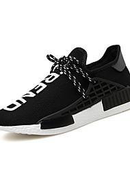 Men's Shoes Outdoor Fashion Sports Shoes Leisure Upper Microfiber fabric Shoes Black/Blue/Grey