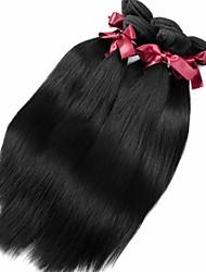 Человека ткет Волосы Перуанские волосы Прямые 12 месяцев 1 шт. волосы ткет