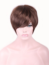 Brown Short Perucas Pelucas Wig For Black Women Sex Products Synthetic Hair Wigs Perruque Hair Styles