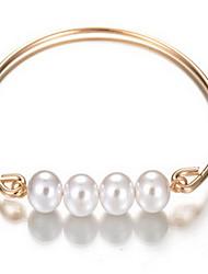 Pulseiras Bracelete Liga Formato Circular / Âncora Fashion / Bohemia Estilo Diário / Casual Jóias Dom Ouro Rose,1pç