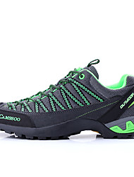 Camssoo Men's Hiking Mountaineer Shoes Spring / Summer / Autumn / Winter Damping / Wearable Shoes Green / Red