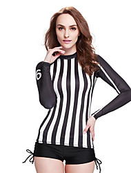 SBART Femme Combinaisons Tenue de plongée Compression Costumes humides 1.5 à 1.9 mm Noir S / M / L / XL Plongée