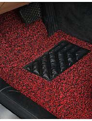 Red Black Silk Spray Mat Free Cut Carpet Mats Spinning Three Piece 52-1A\1192