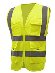la construction de vêtements du personnel veste gilet site de route de l'assainissement net de tissu de la sécurité routière