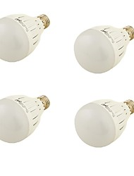 YouOKLight 4PCS E27 9W 850lm 6000K 18xSMD5730  White Light  LED Bulb Lamp(85~265V)