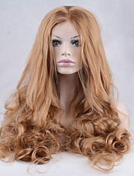 Synthetic Lace Front Wig Blonde Color Sexy For Black Women Cosplay Wigs