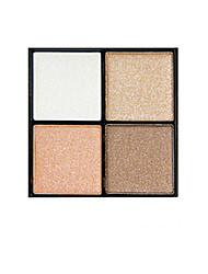 Four Color Eye Smoky Eye Makeup Earth Color Eye Shadow
