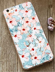 Back Shockproof Flower TPU Soft Shockproof Case Cover For Apple iPhone 6s Plus/6 Plus / iPhone 6s/6 529686701796