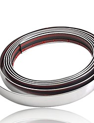 Car Chrome Styling Decoration Moulding Trim Strip 21mm