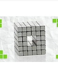 Toys Magnet Toys 192Pcs Executive Toys Puzzle Cube DIY Toys Magnetic Balls Silver Education Toys For Gift