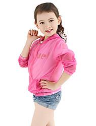 Casual/Dagelijks-Effen-Nylon-Zomer-Girl's-Kostuum & Blazer-Blauw / Rood