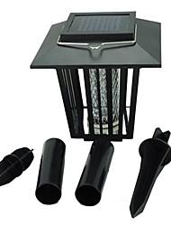 3W LED solari 200 lm Luce fredda / Viola Capsula LED Impermeabile Batteria V 1 pezzi