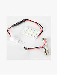 автомобильный водить свет чтения огни автомобиля внутреннее освещение 1210 3528-12smd автомобиля купол света лампы для чтения