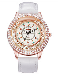 Fashion Luxury Euramerican Style Set Auger Big Dial Women Quartz Watch