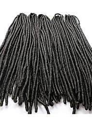 "Fashion Faux Locs Dreadlock Braids Havana Mambo 18"" Soft Dreadlock Braid Synthetic Crochet Braids"