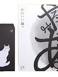 Cute Retro Envelopes Suit 6 Letterheads and 3 Envelopes(Random Colors)