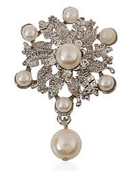 coréen perle de mode bouquet de mariée weome mariage Broche