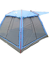 / 3-4 persons Tent Double Family Camping Tents Two Rooms Camping Tent 2000-3000 mm Fiberglass Polyester OxfordBreathability Ultraviolet