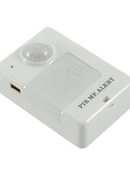 A9 Infrared Alarm Mini Type Burglar Alarm A9 GSM Positioner Human Body Induction Back Alarm