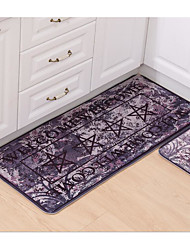 Printing And Dyeing Flannel Carpet Mats Mat Strip Bathroom Kitchen Carpet Washing Machine Washable