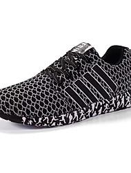 Men's Mesh Sneakers Casual Fabric Fashion Athletics Running Shoes EU39-43
