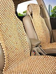 fila madeira de pinho bege do novo grânulo de madeira almofada do assento de carro
