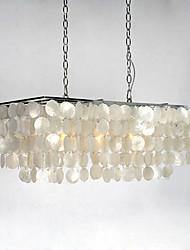 Lampe suspendue ,  Contemporain Traditionnel/Classique Rustique Autres Fonctionnalité for Style mini MétalSalle de séjour Chambre à