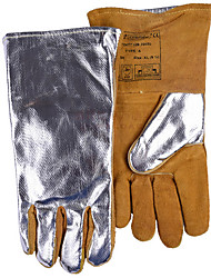 WELADS® Wear Resistance And Cutting Temperature Heat Reflection Welding Welding Manual Welding And Gas Cutting Gloves