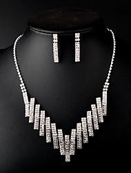 Ensemble de bijoux Femme Mariage / Anniversaire / Cadeau / Sorée / Quotidien Parures Stras Stras Colliers décoratifs / Boucles d'oreille