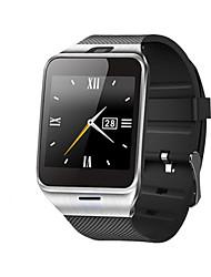 """gv18 1,54 """"gsm wearable relógio telefone inteligente w / câmera / controle remoto nfc"""