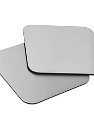 1Pcs Stainless steel Square Coasters Cup mat Table Decoration Accessories Kitchware