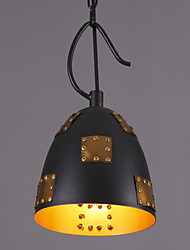 Amercian Countryside Metal Patch Pendant Lamp Decorate for Hallyway / Study Room / Foyer Drop Light