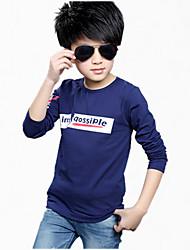 Jungen T-Shirt - Baumwolle Patchwork Sommer