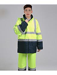 retardante de fogo - estática terno claro trabalho refletindo terno mina de carvão de petróleo roupas de proteção química - anti estática