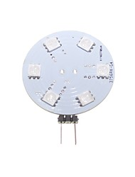 2W G4 / GZ4 Luces LED de Doble Pin Luces Empotradas 9 SMD 5050 80-120 lm RGB Decorativa AC 12 / DC 12 V 1 pieza