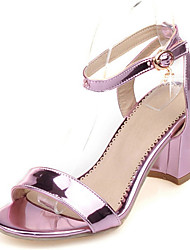 Women's Shoes Chunky Heel Open Toe Ankle Strap Slingback Sandal More Color Available