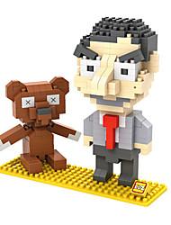 para presente Blocos de Construir Plástico Cinzento / Preta Brinquedos