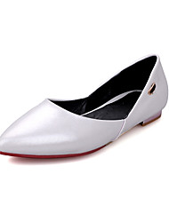 Women's Shoes Low Heel Heels / Pointed Toe Heels Dress / Casual Red / White / Gold