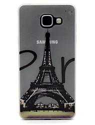 Para Capinha Motorola Brilha no Escuro Capinha Capa Traseira Capinha Torre Eiffel Macia TPU Motorola Moto G4 Play / MOTO G4